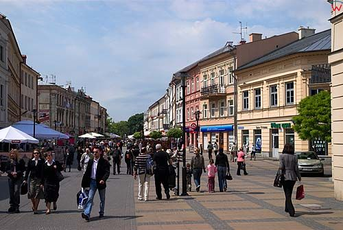 Lubelskie. Krakowskie Przedmiescie.