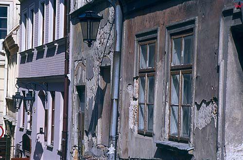 Lublin, kamienice na starym mieście