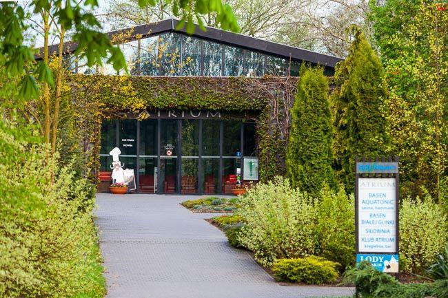 Naleczow, Atrium SPA w Parku zdrojowym. EU, PL, Lubelskie.