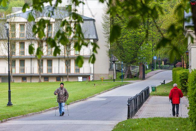 Naleczow, Park Zdrojowy. EU, PL, Lubelskie.