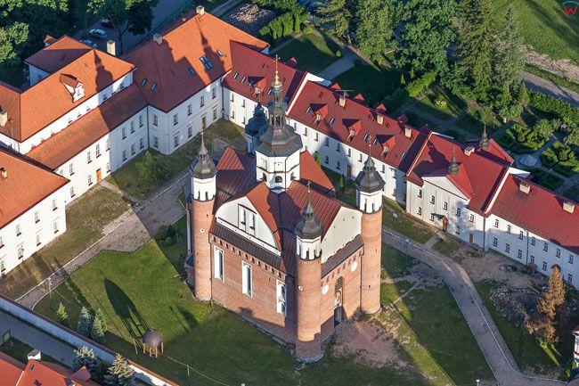 Suprasl, Prawoslawny Monaster pw. Zwiastowania Przenajswietrzej Bogurodzicy i Jana Teologa. EU, PL, Podlaskie. Lotnicze.