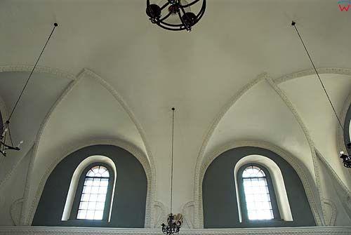 Sklepienie synagogi w Szczebrzeszynie