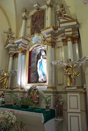 Wnętrze kościoła św. Mikołaja w Szczebrzeszynie