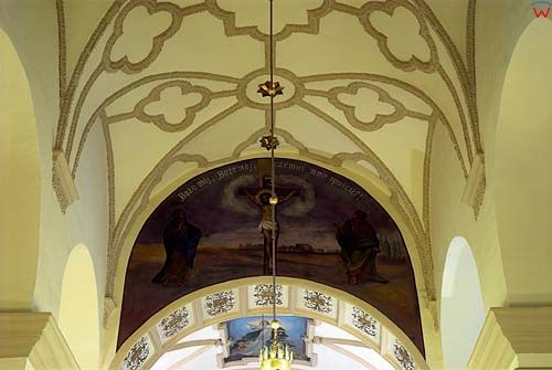 Sklepienie kościoła Świętego Mikołaja w Szczebrzeszynie