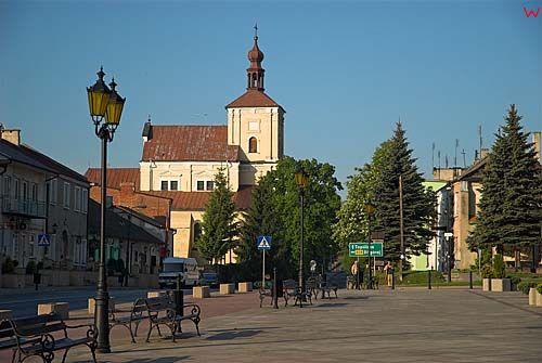 Lubelskie. Szczebrzeszyn, centrum miasta.