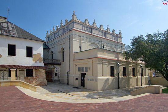Synagoga w Zamosciu. EU, Pl, Lubelskie.
