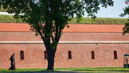 Fortyfikacje Zamoscia - Bastion VII. EU, Pl, Lubelskie.
