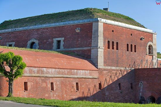 Fortyfikacje Zamoscia - Bastion VII i Nadszaniec. EU, Pl, Lubelskie.