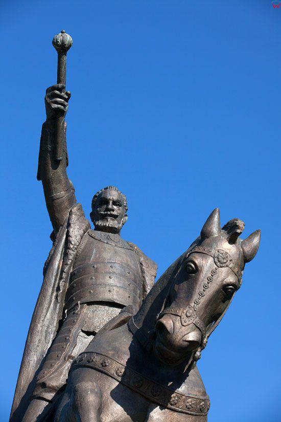 Zamosc- Pomnik Jana Zamoyskiego. EU, Pl, Lubelskie.