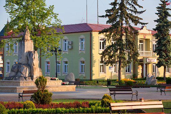 Jozefow - Plac Wyzwolenia. EU, Pl, Lubelskie.