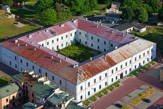 Zamosc - Akademia Zamojska. EU, PL, Lubelskie. LOTNICZE.