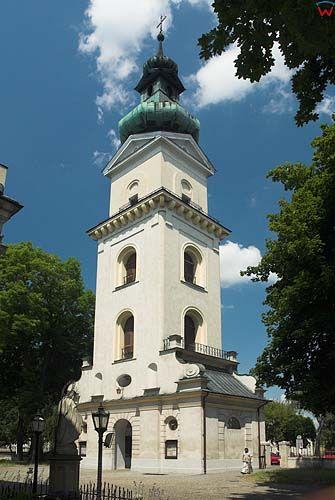 Dzwonnica przy katedrze w Zamościu
