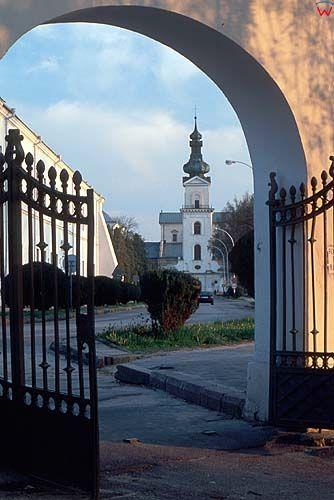 Zamość, brama w parku