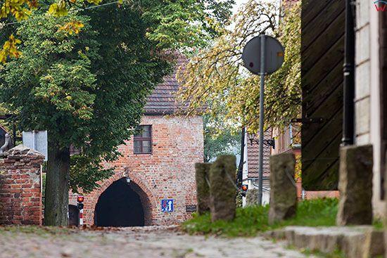 Lagow, panorama na Brme Polska. EU, Pl, Lubuskie.