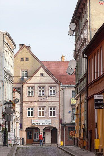 Swiebodzin, ulice miasta. EU, Pl, Lubuskie.