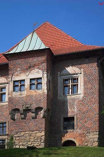 zamek w Dębnie, małopolska