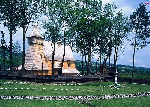 Dębno-kościół drewniany