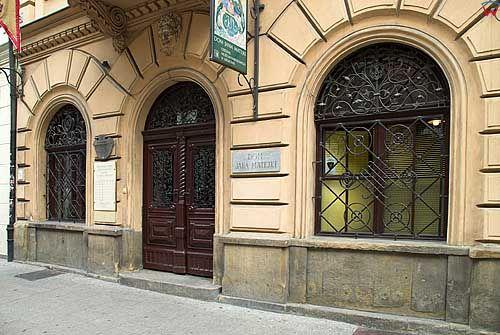 Krakow. Dom Jana Matejki przy ul. Florianskiej