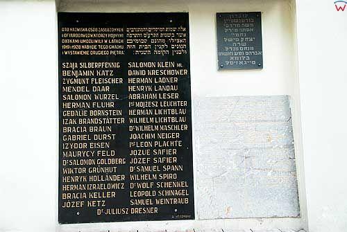 Krakow. Cmentarz Zydowski przy ul. Szerokiej.
