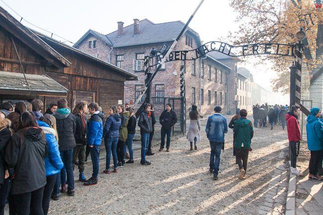 Oswiecim, Niemiecki oboz zaglady Auschwitz I. EU, Pl, Malopolska.