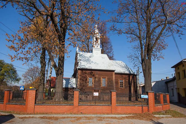Wolbrom, drewniany kosciol Matki Boskiej NP. EU, PL, Malopolska.