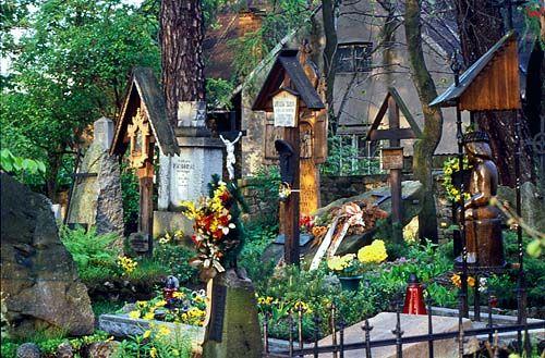 Zakopane, cmentarz na Peksowym Brzysku