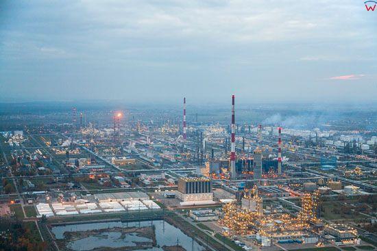 Plock, Polski Koncern Naftowy ORLEN. EU, Pl, Mazowieckie. LOTNICZE.