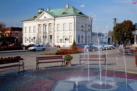 Pl, mazowieckie. Centrum Sochaczewa.