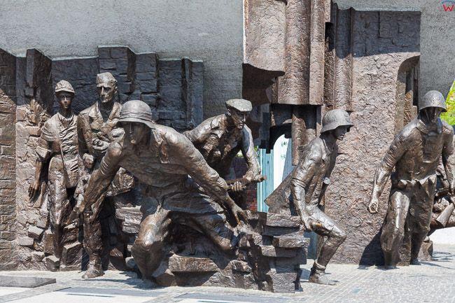Warszawa, Pomnik Powstania Warszawskiego 1944. EU, PL. Mazowieckie.