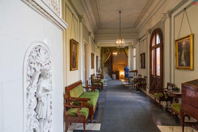 Wilanow, wnetrza Muzeum Palacu Krola Jana III - Palac Wilanowski. EU, PL. Mazowieckie.