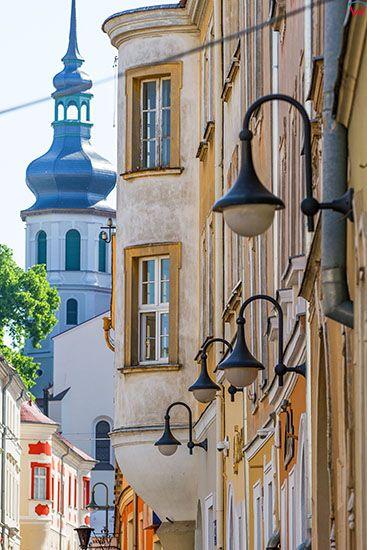 Opole, detale architektoniczne przy ulicy Katedralnej. EU, PL, Opolskie.