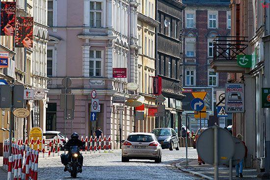 Opole, panorama na ul. Ozimska. EU, PL, Opolskie.