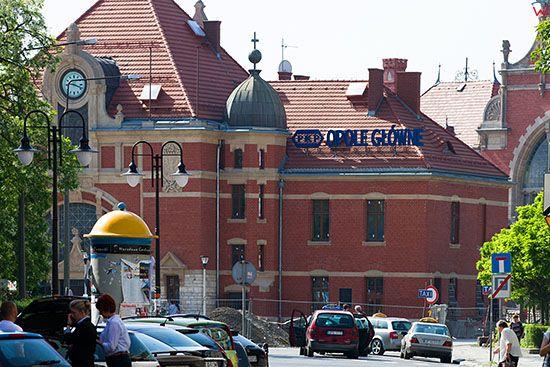 Opole, Dworzec Glowny PKP. EU, PL, Opolskie.
