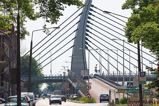 Opole, wiadukt na ulicy Reymonta. EU, PL, Opolskie.