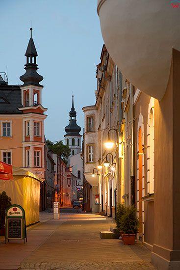 Opole, uliczki starego miasta. EU, PL, Opolskie.