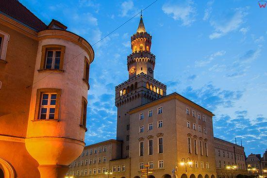 Opole, Ratusz. EU, PL, Opolskie.