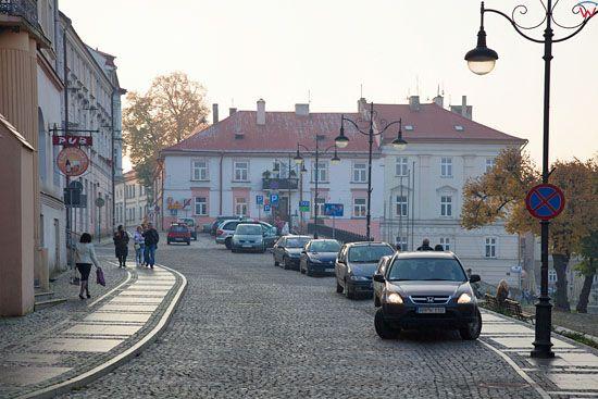 Ulica Grodzka i Rynek w Przemyslu. EU, Pl, podkarpackie.