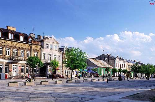 Rynek w Augustowie