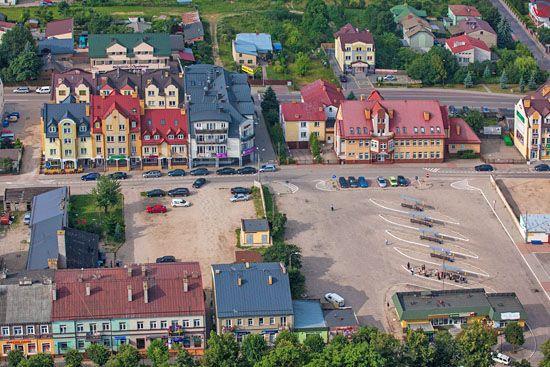 Augustow,  Dworzec PKS. EU, PL, Podlaskie. Lotnicze.