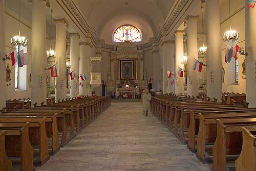 _W060387 wnętrze kościoła-konkatedry św. Aleksandra w Suwałkach.