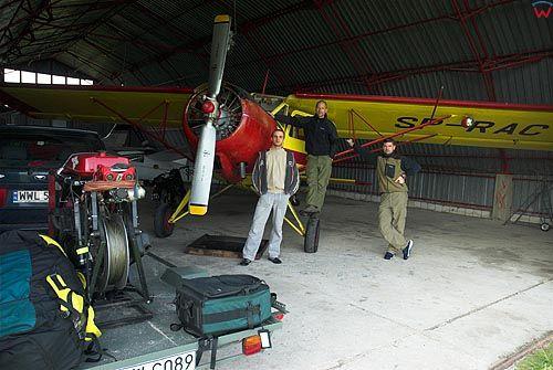 Hangar lotniczy w Suwałkach, Prywatne