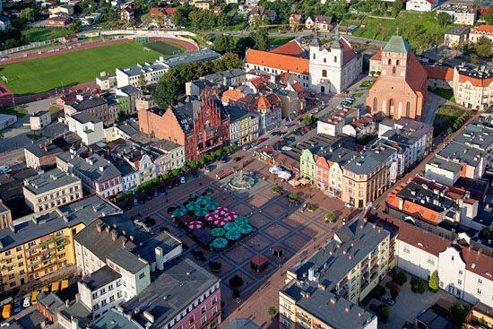 EU, PL, Pomorskie. Stare miasto w Chojnicach.