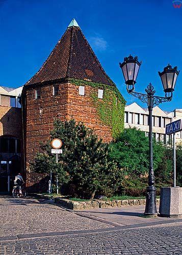 Gdańsk, baszta słomiana