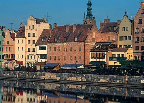 Długie Pobrzeże w Gdańsku