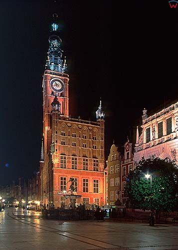 Gdańsk, ratusz głównego miasta