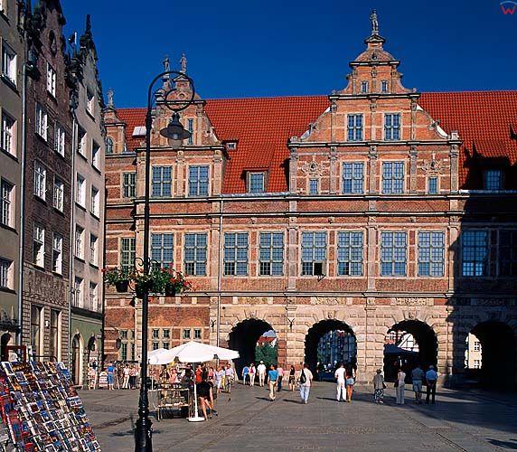 Gdańsk, zielona brama