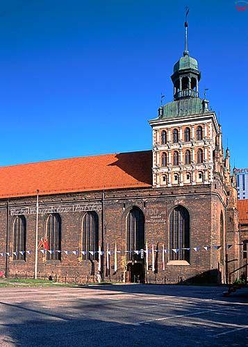 Gdańsk, kościół brygidy