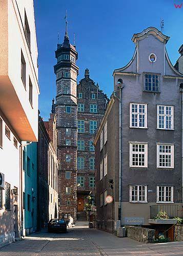 Gdańsk, dom przyrodników, ulica mariacka