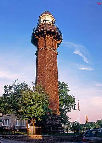 Gdańsk, latarnia w porcie