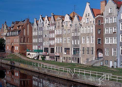 Gdańsk-Długie Pobrzeże 050295d polska europa dia 645 fot. Wojciech Wójcik